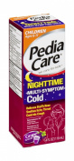 Children's Pedia Care Nighttime Multi-Symptom Cold Grape Flavour 120ml