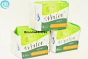 72 pads Pantiliner WinIon Anion Winalite Sanitary Napkin without wing daily