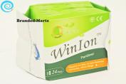 24 pads Pantiliner WinIon Anion Winalite Sanitary Napkin without wing daily