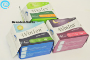 40 pads Winalite Sanitary Napkin Day over Night Pantiliner WinIon Anion Pad mix