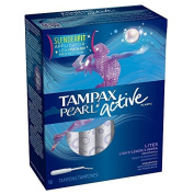 Tampax Pearl Plastic Lites/Light Absorbency - Unscented Tampons 18 Count