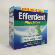 Efferdent Plus Mint 36 Tablets per Box
