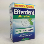 Efferdent Plus Mint 78 Tablets per Box