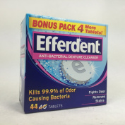 Efferdent Anti-Bacterial Denture Cleanser Tablets, 40 Count per Box