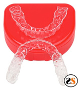 Custom Essix Plus Super Clear Dental Retainers Upper + Lower