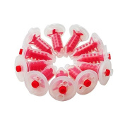 Dental Power 50 Pcs Red Dental Dynamic Machine Penta Mixing Tips Impression