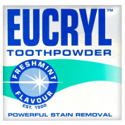 Eucryl 12 X Toothpowder Freshmint Flavour 50G