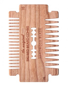 Big Red Beard Combs - Handcrafted No. 16 Hardwood Blade Beard Comb (Available in Cherry or Walnut)
