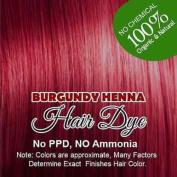Henna hair colour BURGUNDY : 100% Organic and Chemical Free Henna for Hair Colour Hair Care 60 g.