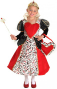 Princess Paradise Queen of Hearts Child Costume Size Small