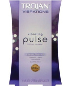 Trojan Vibrations Vibrating PULSE Intimate Massager - 6 Settings, 3 Speeds and 3 Pulse Patterns