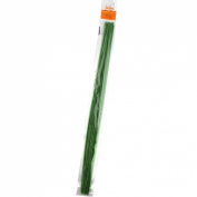 Decora 22 Gauge Green Floral Wire 41cm ,50/Package