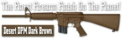 Lauer Custom Weaponry DCBK189 DuraCoat Beginners Kit - Desert DPM Dark Brown