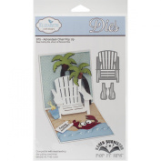 Elizabeth Craft Designs Steel Cutting Die, Adirondack Chair Pop Up