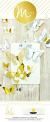 American Crafts 32 Piece Heidi Swapp Minc 3D Butterflies