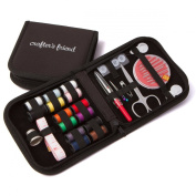 Crafter's Friend Sewing Kit with Extra White & Black Thread