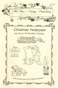 Christmas Yesteryear Hot Iron Embroidery Transfers