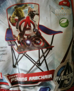 Avengers Marvel Age of Ultron Child's Folding Camping Chair W/drink Holder and Sling Bag