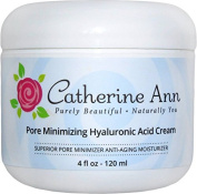 Best Pore Minimizer Hyaluronic Acid Cream By Catherine Ann - Best Facial Moisturiser Oil Free and Anti Ageing For Combination - Oily - Acne Skin. Day and Night Cream - 70% Organic - Results Guaranteed!