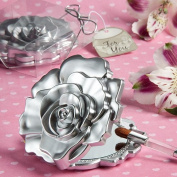 Wedding Favours Realistic rose design mirror compacts