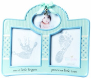 Nat and Jules Handprint and Footprint Frame, Blue
