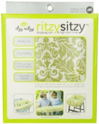 Itzy Ritzy Shopping Cart and High Chair Cover, Avocado Damask