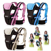 CdyBox Adjustable 4 Positions Carrier 3d Backpack Pouch Bag Wrap Sling Front Back Newborn Baby Infant