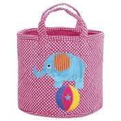 JoJo Maman Bebe Elephant Medium Storage Bucket, Elephant