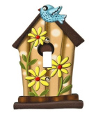 Birdhouse Switch Plate Cover - Nursery Room Light Switch Cover