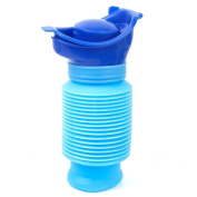 Tinksky Portable 750ML Children Potty Travel Urinal Car Toilet Pee