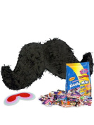 Costume Supercenter BBPK100 Moustache Pinata Kit