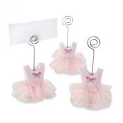 Kate Aspen Tutu Cute Place Card Holders, Pink