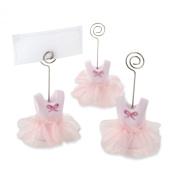 Kate Aspen Tutu Cute Place Card Holders, Pink
