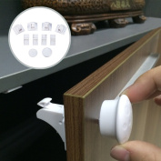 Magnetic Cupboard Locks for Baby Care Child Proofing - No Tools Needed