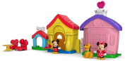 Fisher-Price Magic of Disney Mickey and Minnie's House Playset by Little People