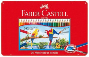 36 colour set TFC-WCP/36C Faber-Castell watercolour pencils