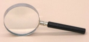 SEOH Magnifying Glass Metal Mount Plastic Handle 7.6cm