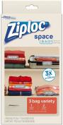 Ziploc Space Bag, Variety Pack, 3 Count