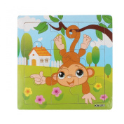 Ularmo Wooden Kids Jigsaw Toys For Children Education And Learning Puzzles Toys