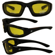 Birdz Eyewear Oriole Padded Motorcycle Glasses