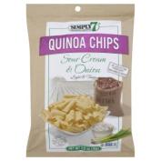 Simply 7 Quinoa Chips Sour Cream & Onion -- 100ml
