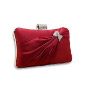 VENI MASEE® Women & Girls Elegance Prom & Party Evening Handbag With Crystal, Clutch Bag, Gift Ideas--Colours Various