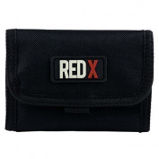 Mens & Boys VELCRO WALLET TriFold Canvas Credit/Debit Card 2 Colours with Change Pocket