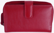 VISCONTI Ladies Boxed Leather Multi Compartment Purse with 16 Card Slots