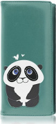 Kukubird RF19C Panda LARGE Size Ladies Purse Clutch Wallet