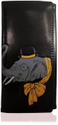 KukuBird Elephant Pattern Large Size Ladies Purse Clutch Wallet