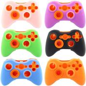 Super Soft Silicone Cover Case Skin for Microsoft Xbox 360 Controller