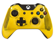 """""""Gold"""" Xbox One Rapid Fire Modded Controller Pro Finish 40 Mods for COD Advanced Warfare, Ghosts Quickscope, Jitter, Drop Shot, Auto Aim, Jump Shot, Auto Sprint, Fast Reload, Much More"""