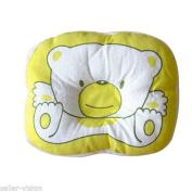 1PCS Bear Pattern Pillow Newborn Infant Baby Support Cushion Pad Prevent Flat Head