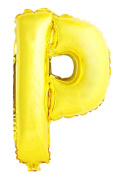 USPRO® 110cm Gold Letter P Balloon